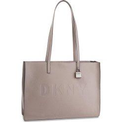 Torebka DKNY - Commuter-Lg Tz Tote R83AA666  Warm Grey WG5. Szare torebki do ręki damskie DKNY, ze skóry. Za 1,199.00 zł.