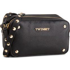 Torebka TWINSET - Tracolla Piccola OS8TBE Nero 00006. Czarne torebki do ręki damskie Twinset, ze skóry ekologicznej. W wyprzedaży za 469.00 zł.