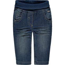 Spodnie w kolorze niebieskim. Spodenki niemowlęce marki Kanz. W wyprzedaży za 39.95 zł.