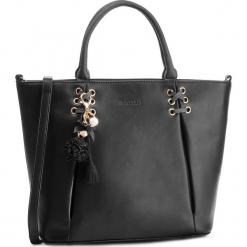 Torebka MONNARI - BAG7550-020 Black. Czarne torebki do ręki damskie Monnari. W wyprzedaży za 209.00 zł.