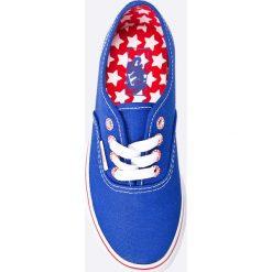 Vans - Tenisówki dziecięce Authentic Star. Buty sportowe dziewczęce Vans, z gumy. W wyprzedaży za 79.90 zł.