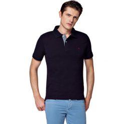 Koszulka Granatowa Polo Jack. Czerwone koszulki polo męskie LANCERTO, z bawełny, z krótkim rękawem. W wyprzedaży za 69.90 zł.