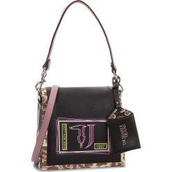 Torebka TRUSSARDI JEANS - Liquirizia 75B4169 K299. Czarne torebki do ręki damskie TRUSSARDI JEANS, z jeansu. Za 489.00 zł.