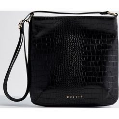 Torebka na ramię - Czarny. Czarne torby na ramię damskie Mohito. Za 99.99 zł.