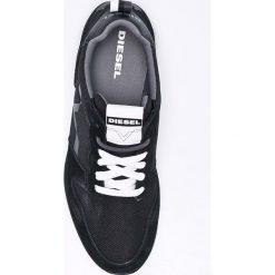 Diesel - Buty. Czarne buty sportowe męskie Diesel. W wyprzedaży za 359.90 zł.