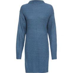 Sweter bonprix niebieski dżins. Niebieskie swetry damskie bonprix. Za 109.99 zł.