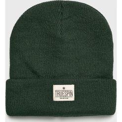 True Spin - Czapka Warm. Szare czapki i kapelusze męskie True Spin. W wyprzedaży za 49.90 zł.