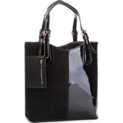 Torebka JENNY FAIRY - RC15206 Black. Czarne torebki do ręki damskie Jenny Fairy, ze skóry ekologicznej. Za 119.99 zł.