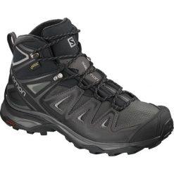 Salomon Buty X Ultra 3 Mid Gtx W Magnet/Black/Monument 38.7. Czarne obuwie sportowe damskie Salomon. Za 629.00 zł.