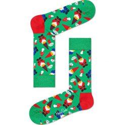 Happy Socks - Skarpety Santa Christmas. Zielone skarpety męskie Happy Socks. W wyprzedaży za 29.90 zł.