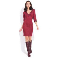 Fille Du Couturier Sukienka Damska Deborah 38 Burgund. Czerwone sukienki damskie Fille Du Couturier, z koronki, eleganckie. Za 269.00 zł.