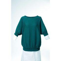 Sweter bonprix niebieskozielony morski. Swetry damskie marki bonprix. Za 74.99 zł.