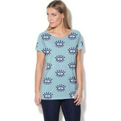 Colour Pleasure Koszulka CP-034  112 niebieska r. XS/S. Bluzki damskie marki Colour Pleasure. Za 70.35 zł.