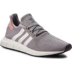 Buty adidas - Swift Run B37728 Grethr/Cblack/Greone. Szare buty sportowe męskie Adidas, z materiału. W wyprzedaży za 299.00 zł.