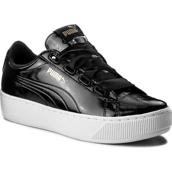 Sneakersy PUMA Vikky Platform Ribbon P 366419 01 Puma BlackPuma Black