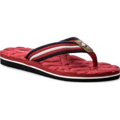 Japonki TOMMY HILFIGER - Comfort Low Beach Sandal FW0FW02368 Tango Red 611. Klapki damskie marki bonprix. W wyprzedaży za 119.00 zł.