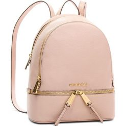 Plecak MICHAEL MICHAEL KORS - Rhea Zip 30S5GEZB1L  Soft Pink. Czerwone plecaki damskie MICHAEL Michael Kors, ze skóry, eleganckie. Za 1,419.00 zł.