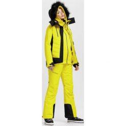 Kurtka narciarska damska KUDN161A - żółty. Kurtki snowboardowe damskie marki WED'ZE. Za 1,299.99 zł.