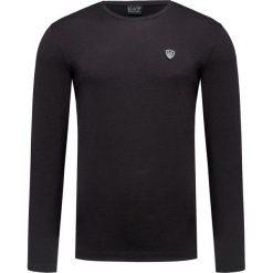 T-shirt EA7 EMPORIO ARMANI Czarny. T-shirty męskie EA7 Emporio Armani, w jednolite wzory, z bawełny. Za 340.00 zł.