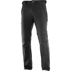 Salomon Wayfarer Zip Pant M Black 48. Czarne spodnie sportowe męskie Salomon. W wyprzedaży za 349.00 zł.