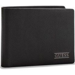 Duży Portfel Męski GUESS - SM2511 LEA27  BLA. Czarne portfele męskie Guess, ze skóry. Za 229.00 zł.
