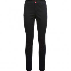 Spodnie z rozcięciem bonprix czarny. Czarne spodnie materiałowe damskie bonprix. Za 99.99 zł.