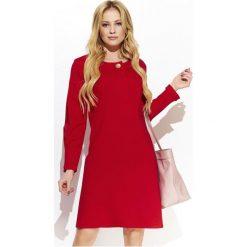 Makadamia Sukienka Damska 36 Czerwona. Czerwone sukienki damskie Makadamia, eleganckie. Za 225.00 zł.