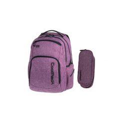 Plecak Młodzieżowy Coolpack Break Wrzosowy +piórnik. Fioletowa torby i plecaki dziecięce CoolPack, z materiału. Za 145.00 zł.