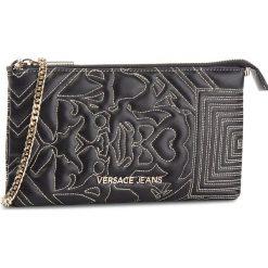 Torebka VERSACE JEANS - E3VSBPZ4 70792 M27. Czarne torebki do ręki damskie Versace Jeans, z jeansu. Za 369.00 zł.