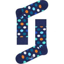 Happy Socks - Skarpety Big Dot. Niebieskie skarpety męskie Happy Socks, z bawełny. Za 34.90 zł.