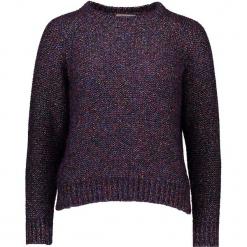 Sweter w kolorze fioletowym. Fioletowe swetry damskie Gottardi, z wełny, z okrągłym kołnierzem. W wyprzedaży za 217.95 zł.