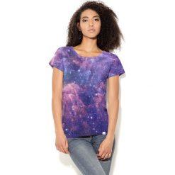 Colour Pleasure Koszulka CP-034  45 fioletowo-różowa r. XL-XXL. Bluzki damskie Colour Pleasure. Za 70.35 zł.