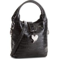 Torebka JENNY FAIRY - RC11808A Black. Czarne torebki do ręki damskie Jenny Fairy, ze skóry ekologicznej. Za 89.99 zł.