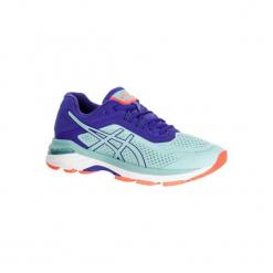 Buty do biegania GEL GT 2000 6 damskie. Niebieskie obuwie sportowe damskie Asics, z gumy. W wyprzedaży za 359.99 zł.