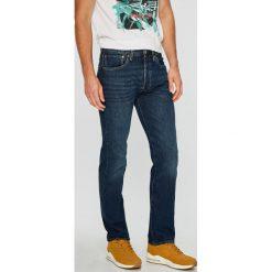 Levi's - Jeansy 501. Brązowe jeansy męskie Levi's. Za 369.90 zł.