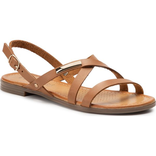 Sandały LASOCKI 2026 04 Brązowy Sandały codzienne