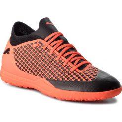 Buty PUMA - Future 2.4 Tt 104841 02 Puma Black/Shocking Orange. Brązowe buty sportowe męskie Puma, z materiału. W wyprzedaży za 189.00 zł.
