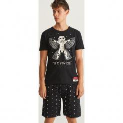 Piżama Star Wars - Czarny. Czarne piżamy męskie Reserved, z motywem z bajki. Za 79.99 zł.