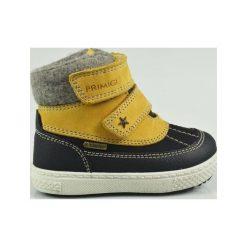 Primigi Buty Zimowe Za Kostkę Chłopięce 29 Żółty. Żółte buty zimowe chłopięce Primigi, z wełny. Za 269.00 zł.