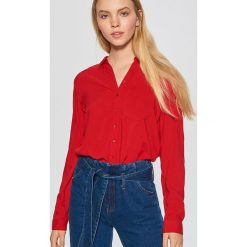 Gładka koszula - Czerwony. Koszule damskie marki SOLOGNAC. W wyprzedaży za 39.99 zł.