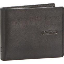 Duży Portfel Męski STRELLSON - Carter 4010001190 Black 900. Czarne portfele męskie Strellson, ze skóry. W wyprzedaży za 139.00 zł.