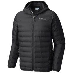 Columbia Kurtka Męska Lake 22 Down Hooded Jacket Black M. Czarne kurtki sportowe męskie Columbia, z puchu. Za 569.00 zł.