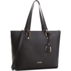Torebka LIU JO - L Tote Isola A68006 E0087 Nero 22222. Czarne torebki do ręki damskie Liu Jo, ze skóry ekologicznej. W wyprzedaży za 449.00 zł.