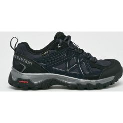 Salomon - Buty. Czarne buty sportowe męskie Salomon, z gore-texu. W wyprzedaży za 449.90 zł.
