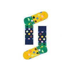Skarpetki Happy Socks BDB01-6000. Brązowe skarpety męskie Happy Socks, z bawełny. Za 24.43 zł.