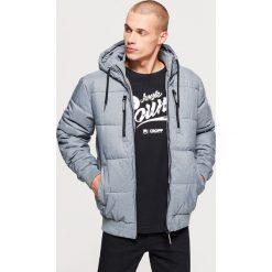 Pikowana kurtka na zimę - Szary. Szare kurtki męskie Cropp, na zimę. Za 249.99 zł.