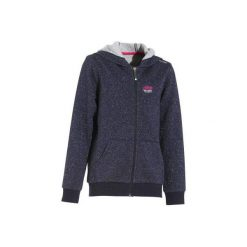 Bluza brokatowa granatowa. Bluzy dla dziewczynek FOUGANZA. W wyprzedaży za 59.99 zł.