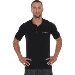 Brubeck Koszulka męska polo Prestige z krótkim rękawem czarna r. XXL (SS10920). Koszulki polo męskie Brubeck, z krótkim rękawem. Za 105.55 zł.