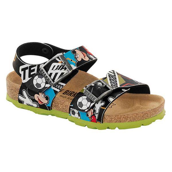 5afe33d317 Sandały w kolorze czarnym ze wzorem - Sandały chłopięce marki ...