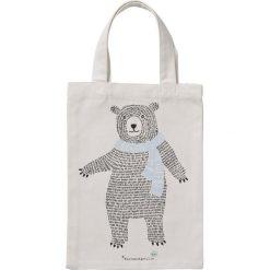 Torba Bear. Szare torby i plecaki dziecięce Bloomingville, z materiału. Za 30.00 zł.